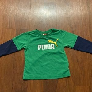 3/20 puma 24 months long sleeve shirt